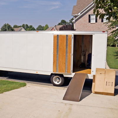 moving truck new home services